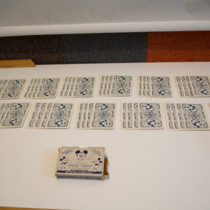 Deck of Thomas De La Rue Disney Mickey Mouse Playing Cards